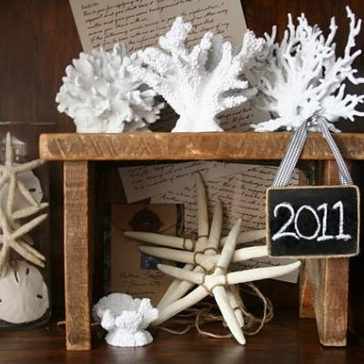 DIY Faux Coral using Walmart pet supply fish tank decor spray painted! (from The Stories of A to Z)