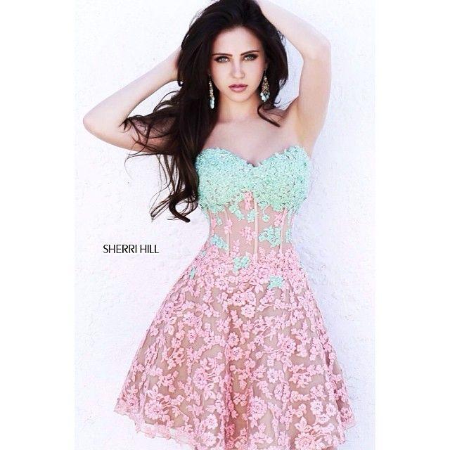 Mejores 102 imágenes de Sherri Hill Dresses en Pinterest | Baile de ...