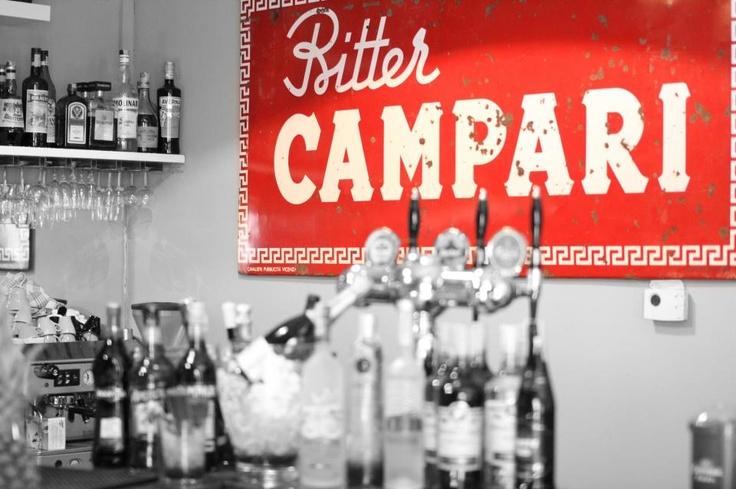 Campari RED #redtemptation #red #campari #bar #cocktails