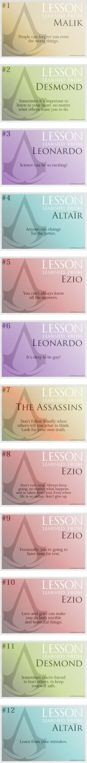 Assassin's Creed Lessons by safella on Polyvore