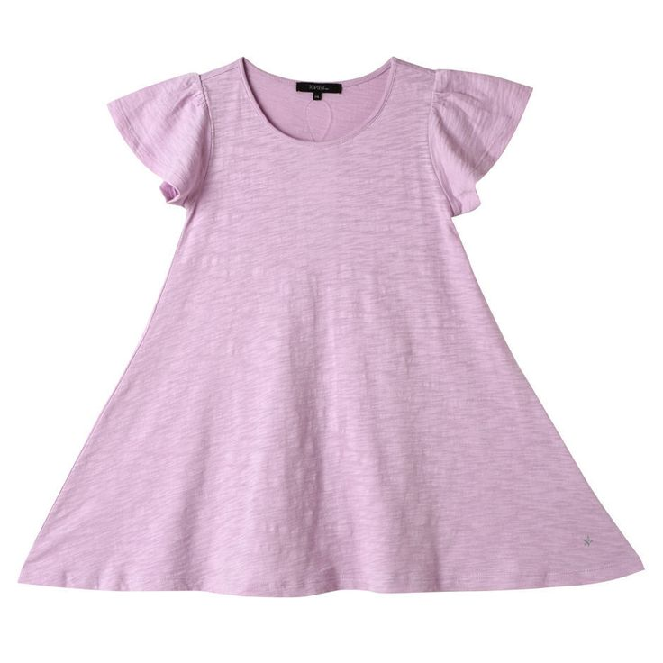 Topten10 KIDS GIRL Angel Wings Basic Cotton Dress_3 options #Topten10 #Everyday