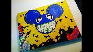 DEADMAU5 FAN Painting BY Firstclass From FIRSTCLASS4LIFE COM | eBay