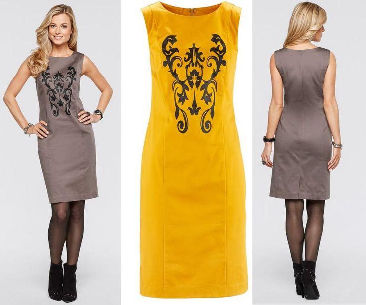* NOVÉ ,,LUXUSNÍ šaty s ornamentem vel.44,46,52 :: AVENTE ...móda s nápadem