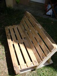 Fabriquer un banc de jardin Instructions de montage...