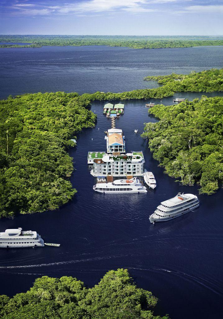 hotel  em Manaus Amazônia Brasil.