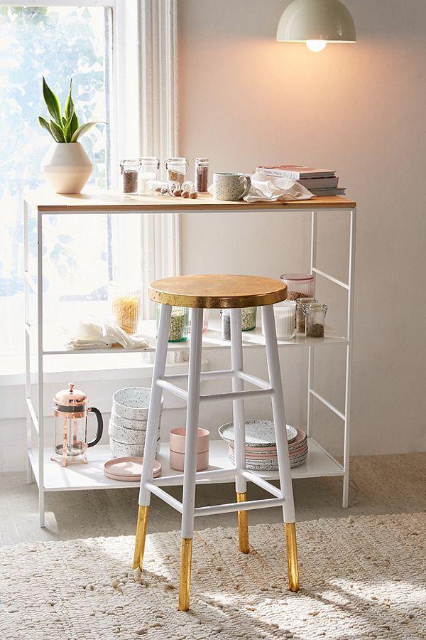 Die besten 25+ Gold bar stools Ideen auf Pinterest Goldener - kleine bar im wohnzimmer
