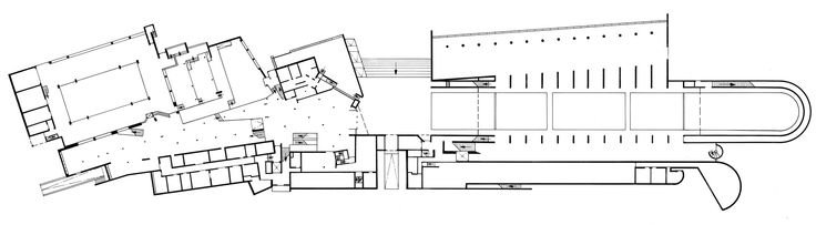 "acidadebranca: "" #ARCHITECTURE #PLAN #DRAWING #ARQUITETURA Bremerhaven | The German Maritime Museum | Hans Scharoun 13.08.2013.01.22 http://www.marmucommerce.com/The_buildings.html A CIDADE BRANCA..."