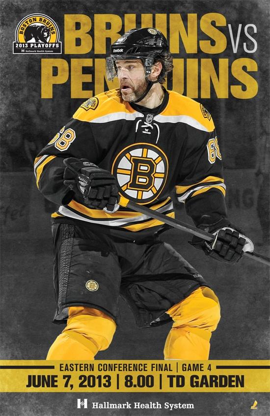 B's vs Penguins, Game 4 | June 7, 2013
