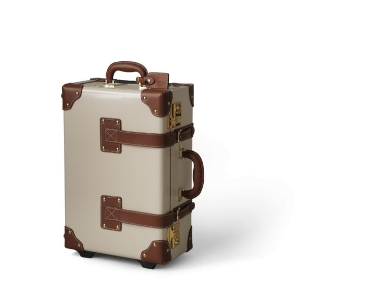 The Diplomat in Cream | Vintage leather luggage from Steamline Luggage