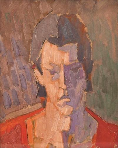 Self-Portrait - Constantin Piliuta