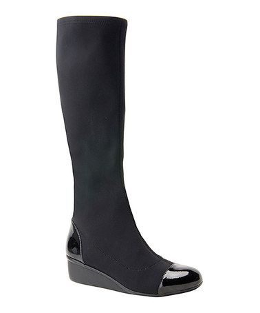 Another great find on #zulily! Black Ebony Boot by Ros Hommerson by Drew #zulilyfinds