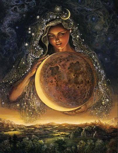 La luna de Artemisa: Como diosa de la Luna y de la caza, personifica el espíritu femenino independiente .Es el arquetipo que permite a una mujer lograr sus propias metas en el terreno que ella misma elija. La mujer Artemisa se siente completa sin un hombre. También representa a la hermana, y es este atributo el que le lleva a solidarizarse con las mujeres y a defender sus derechos. Artemisa  traía y aliviaba las enfermedades de las mujeres; representa una preocupación por las mujeres…