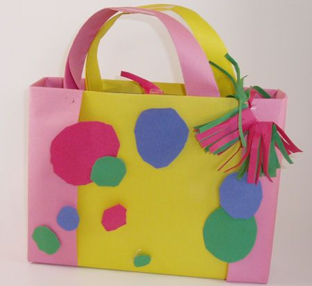 Cereal Box Purse or Briefcase - Kids will have fun personalizing this craft