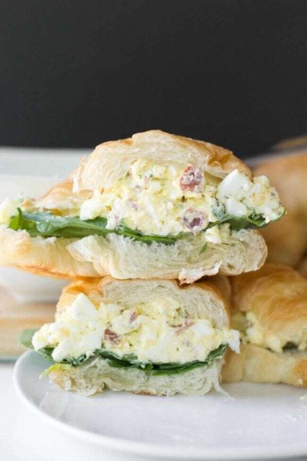 The Best Egg Salad Sandwich Recipe Spaceships And Laser