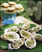 Gegratineerde oesters - Weekend Knack !