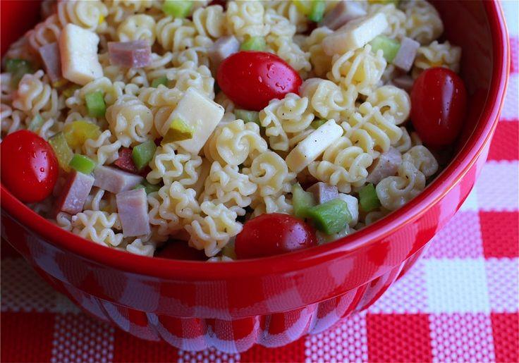 Italian Pasta Salad | Make Ahead Meals For Busy Moms