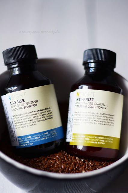 Insight daily use szampon anti frizz odżywka