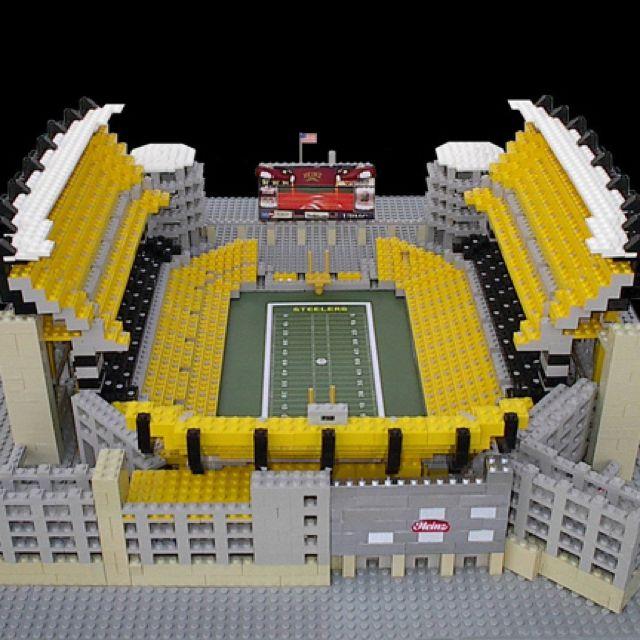 Lego Heinz Field - Best Lego Set Ever!!!!!
