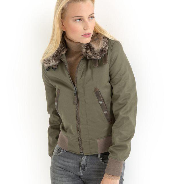 Куртка в стиле милитари NANCY SCHOTT | La Redoute Mobile