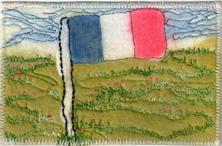 French Flag by Jillian Schneider