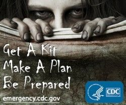 CDC zombie survival guidelines