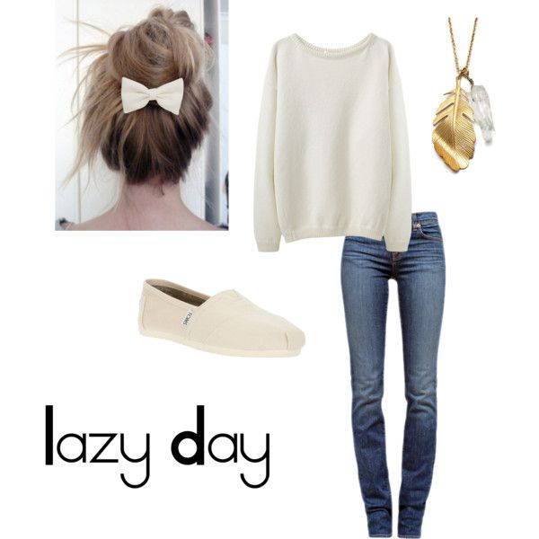U0026quot;Lazy Dayu0026quot; by melissa1753 on Polyvore   Outfit Ideas   Pinterest   Men and women Lazy days and ...
