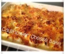 """I LOVE your Cauliflower Cheese"" bake 