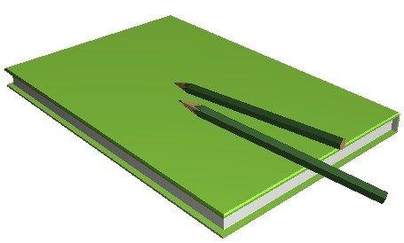 教科書と鉛筆