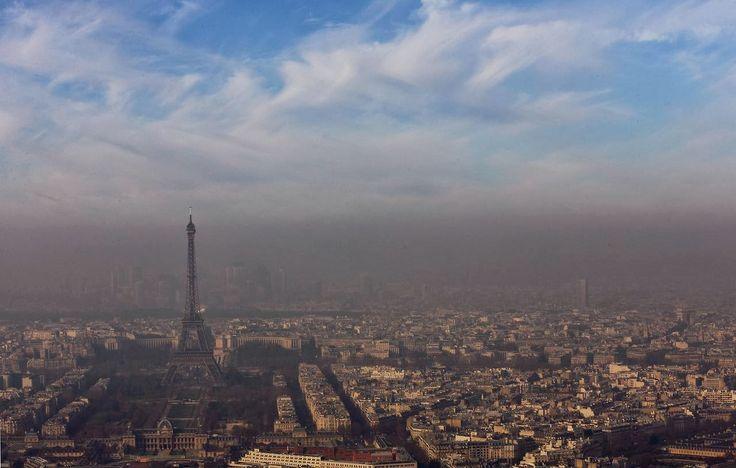 Declaran alerta por contaminación en París
