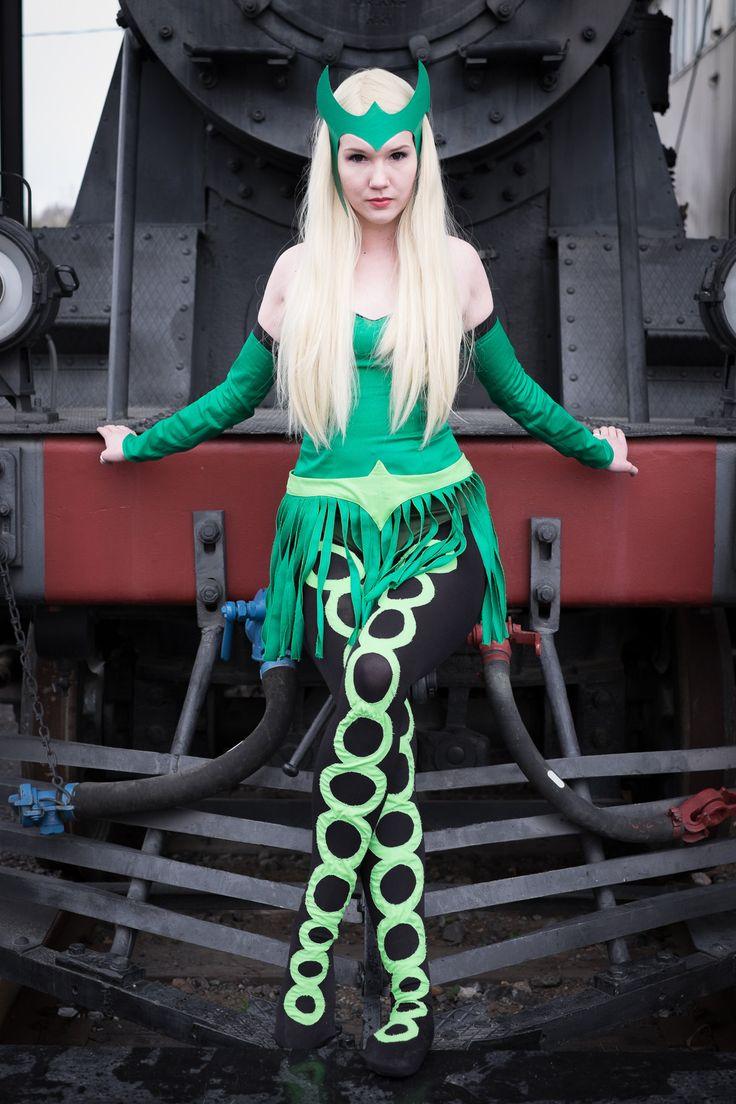 Enchantress (Amora of Asgard) cosplay by Joletsi.deviantart.com #cosplay