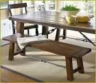 Dining With Barn Table Benches