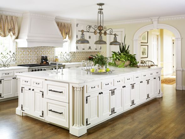 93 best house colonial revival images on pinterest for Colonial revival kitchen design