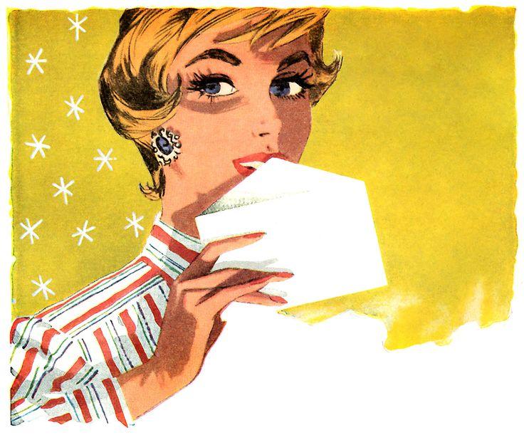 https://flic.kr/p/d8JSMd | Detail from a 1957 Stork Margarine ad