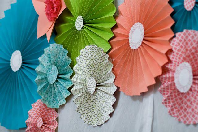 bunting layered with ribbon\/fabric\/streamers Crafty Projects - küche günstig zusammenstellen