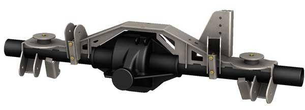 Pro Series Ford 8 8 Axle Truss Vehiculo Todo Terreno Trailer