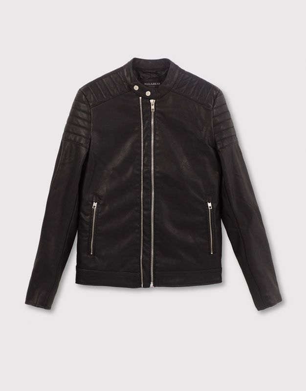 Veste suedine pull and bear