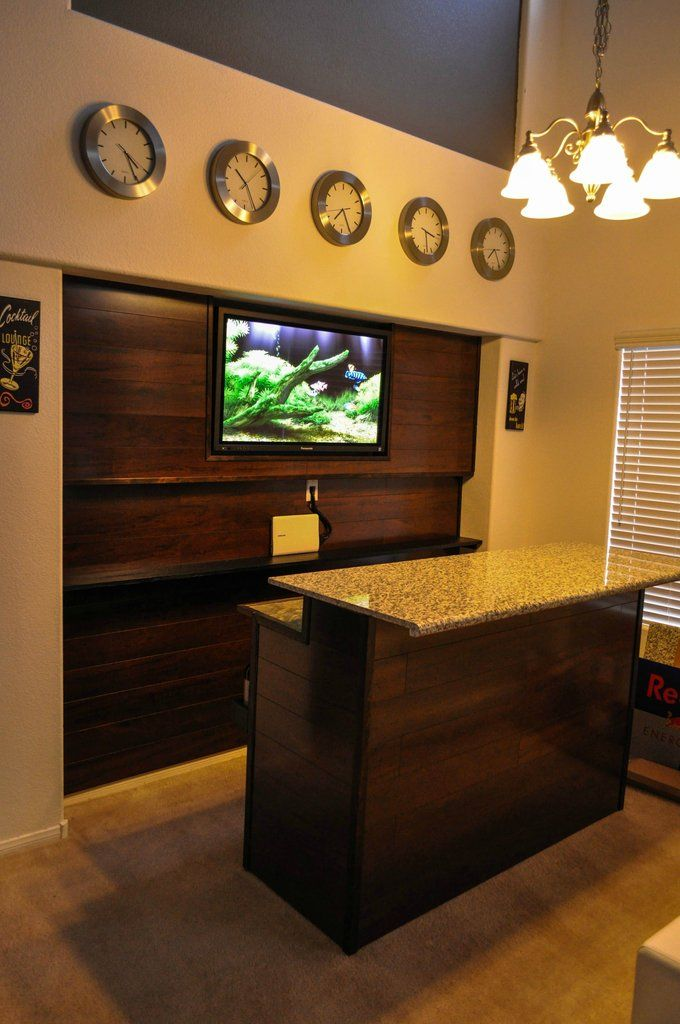 diy bar accent wall imgur viking apartment pinterest time zone clocks videos and bar. Black Bedroom Furniture Sets. Home Design Ideas