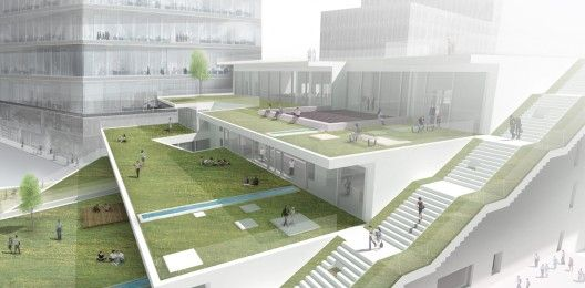 Green Square Library & Plaza Design Competition Entry (4)