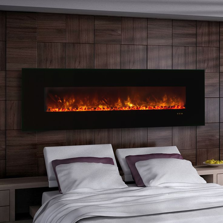 The 25 best wall mount electric fireplace ideas on pinterest wall mounted fireplace tv wall for Electric wall fireplace bedroom