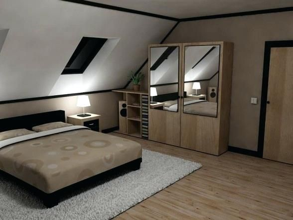 Decorating An Attic Bedroom Modern Attic Bedroom Design Ideas