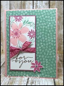 Stampin' Gals Gone Wild Weekend Challenge | Simply Simple Stamping