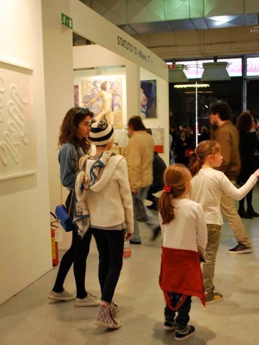 Découverte, partage, fascination se sont les mots-clefs du salon d'art milanais !!
