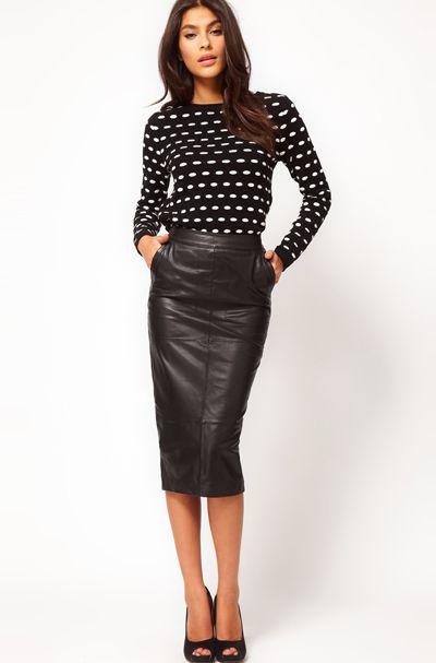 кожаная юбка - Самое интересное в блогах