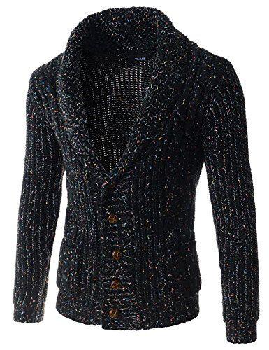 Showblanc (SBTNC02) Male Dressy Casual Design Knitwear Shawl Collar Cardigan BLACK X-Large(Chest 40) Showblanc http://www.amazon.com/dp/B014R6RUS2/ref=cm_sw_r_pi_dp_jxgmwb0XD35RN
