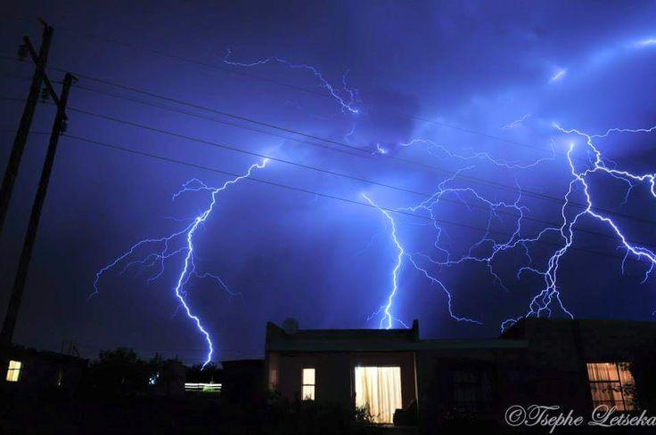 Maseru storms