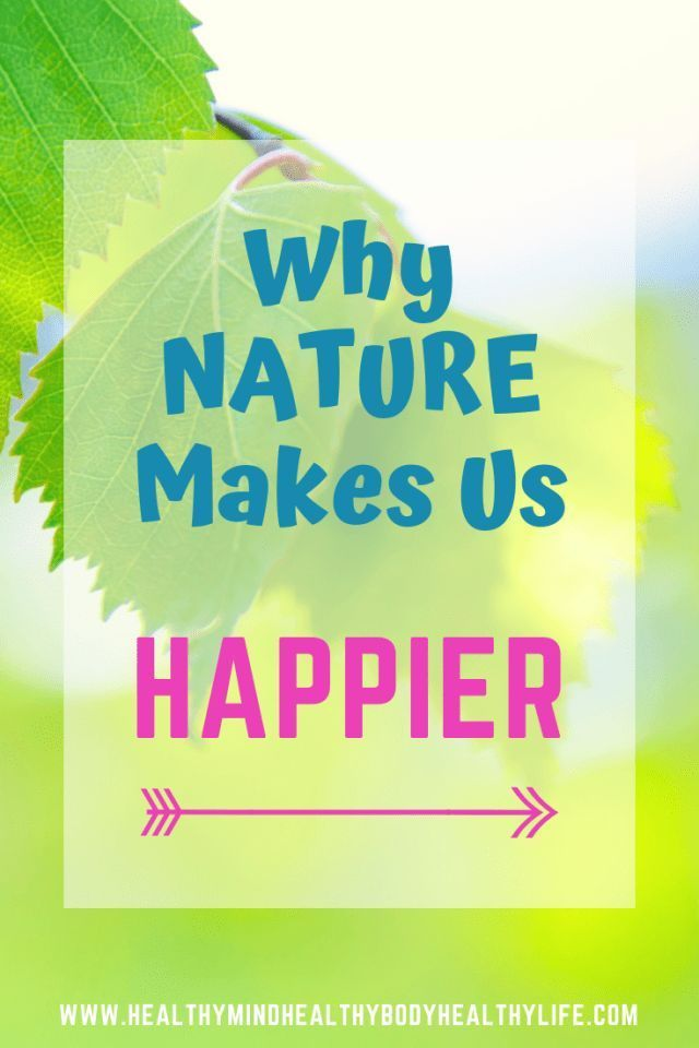 Happiness Habit 7: Nature