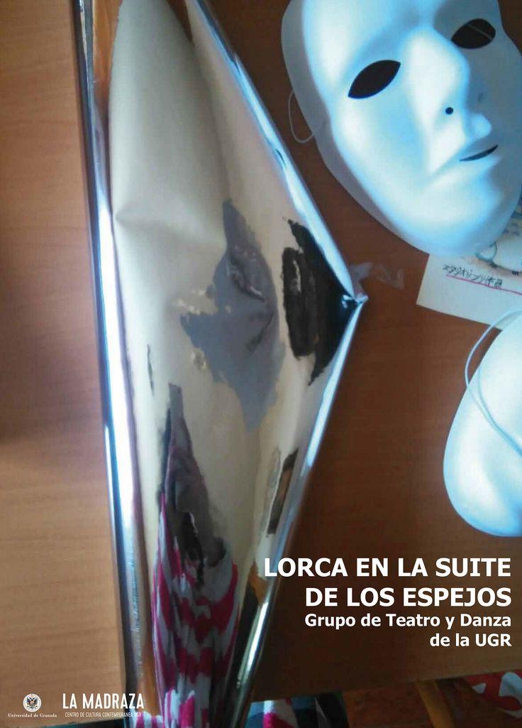 """Hoy, en la """"Casa Museo Lorca (Valderrubio)"""" tendrá lugar la Representación teatral """" #Lorca en la suite de los espejos"""" a cargo del Grupo de #TeatroYDanzaUGR . La Sesión matutina para escolares, a las 13:00 horas y la Sesión vespertina (19:00 horas) para público en general. Entrada libre. Organiza: Aula de Artes Escénicas con la colaboración del Ayuntamiento de Valderrubio. http://lamadraza.ugr.es/evento/representacion-teatral-lorca-en-la-suite-de-los-espejos/ #ArtesEscénicasUGR"""