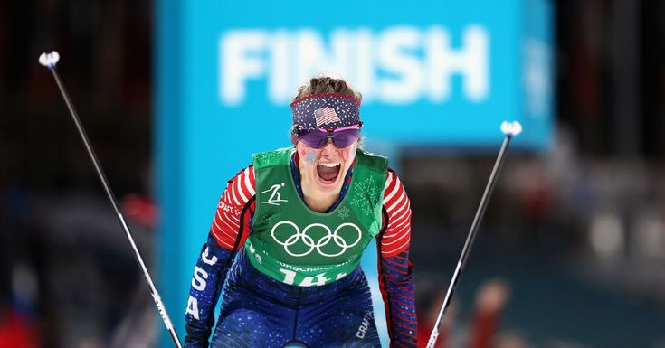 U.S. Shocks Cross-Country Field With Sprint Gold Medal  ||  Kikkan Randall and Jessie Diggins won gold in the women's team sprint freestyle, the first U.S. medal in cross country since 1976. https://www.nytimes.com/2018/02/21/sports/olympics/cross-country-usa-jessie-diggins-kikkan-randall.html?emc=rss&partner=rss&utm_campaign=crowdfire&utm_content=crowdfire&utm_medium=social&utm_source=pinterest