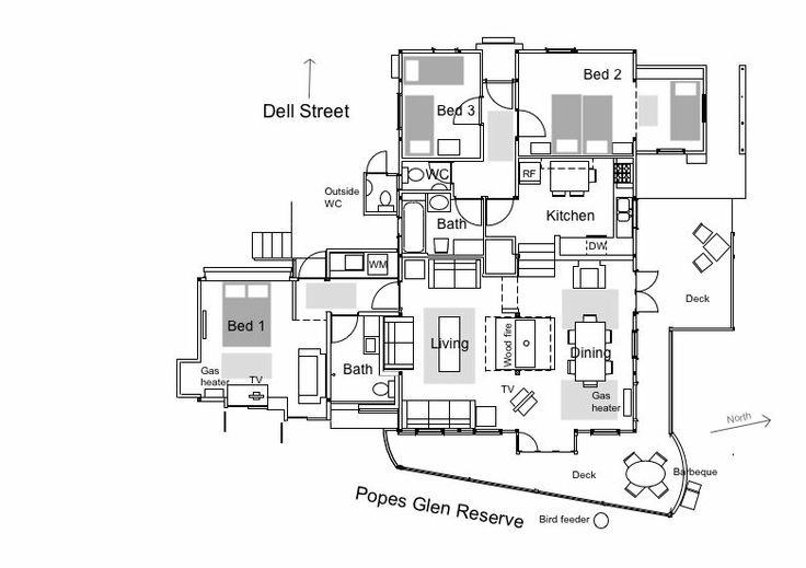 Floor plan The Dell Blackheath