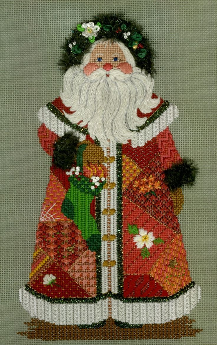 Just Peachy Santa by Just Libby Designs